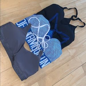 3 for $15! Under Armour bras.